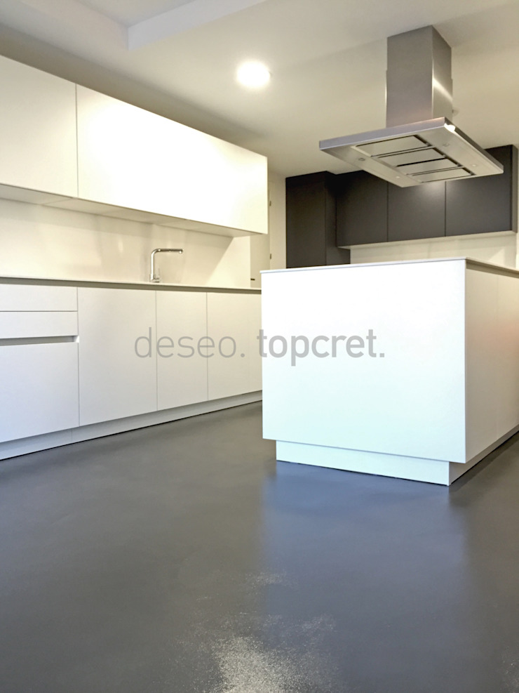 Topcret Dapur Modern Grey