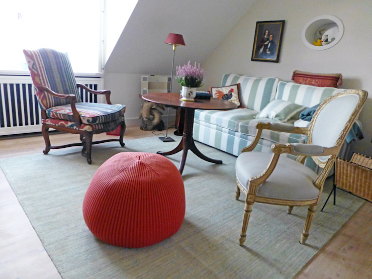 Klassieke woonkamers van Kiran Kelim & Teppich Kunst Klassiek