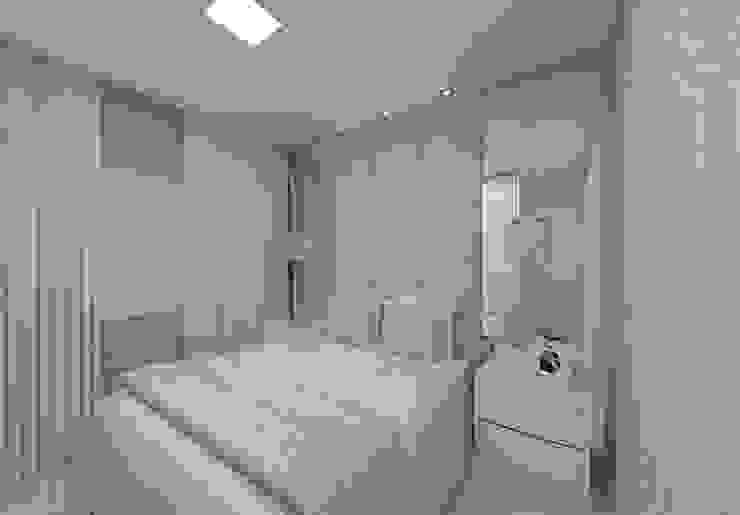 Dormitorios de estilo moderno de Aline Bassani Arquitetura Moderno