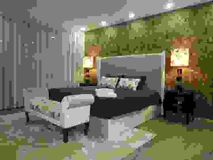 Kamar Tidur Gaya Rustic Oleh AS-Arquidesign Rustic