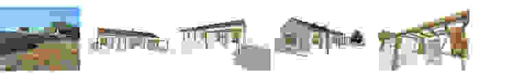 Recuperação de Habitação Rural em taipa por Arq2T. Atelier Rústico