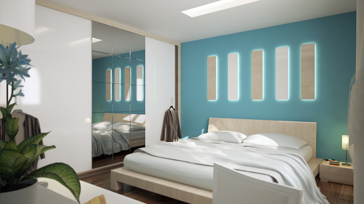 INTERIOR DESIGN FOR YILDIRANCANS HOME ROAS ARCHITECTURE 3D DESIGN AGENCY İç Dekorasyon