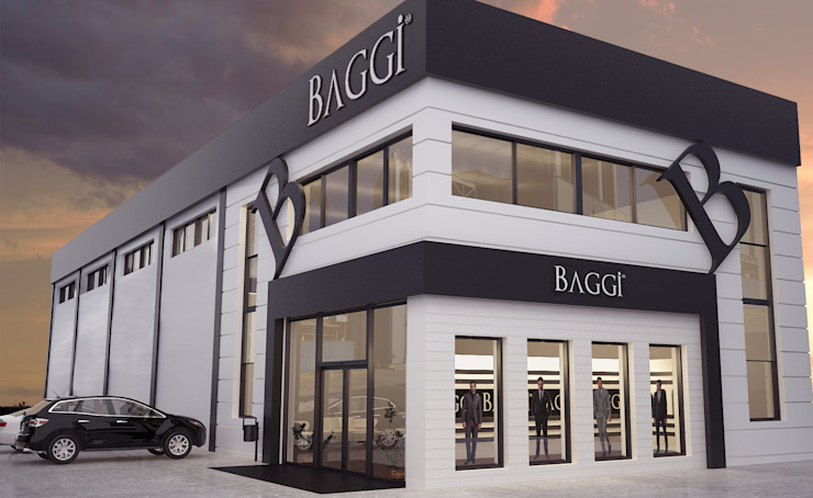 ROAS ARCHITECTURE 3D DESIGN AGENCY – EXTERIOR DESIGN FOR BAGGI: modern tarz , Modern