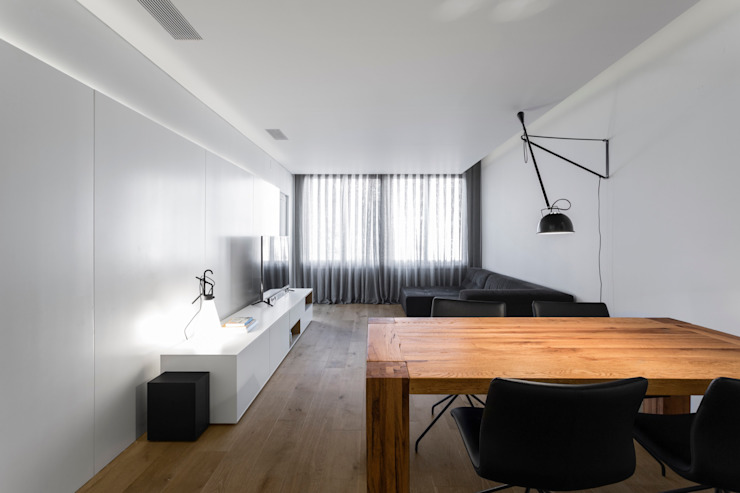 PAULO MARTINS ARQ&DESIGN Salones escandinavos