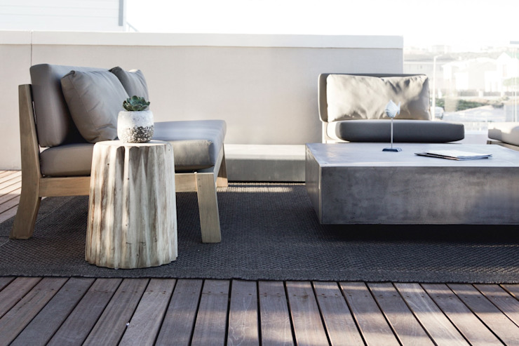 Deck area by Salomé Knijnenburg Interiors Modern