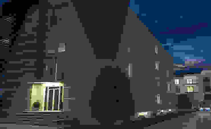 INTERIOR AND EXTERIOR DESIGN FOR GERMENCIK ZIRAAT ODASI Modern Evler ROAS ARCHITECTURE 3D DESIGN AGENCY Modern