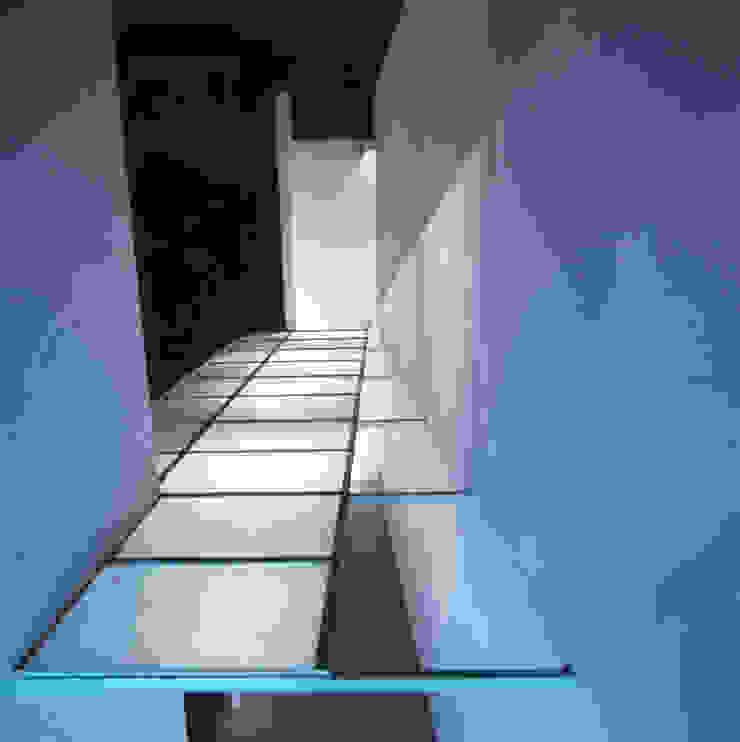 Techo de cristal desde casa Casas modernas de PI Arquitectos Moderno
