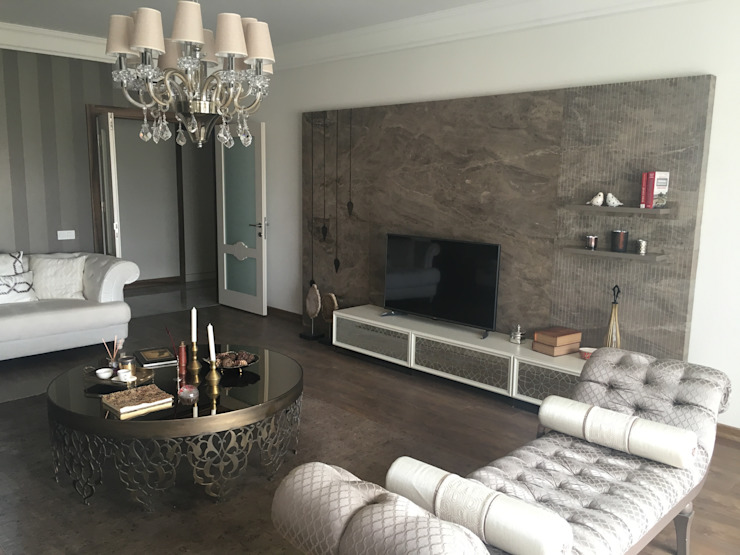 MAT DİZAYN – Salon: minimalist tarz , Minimalist