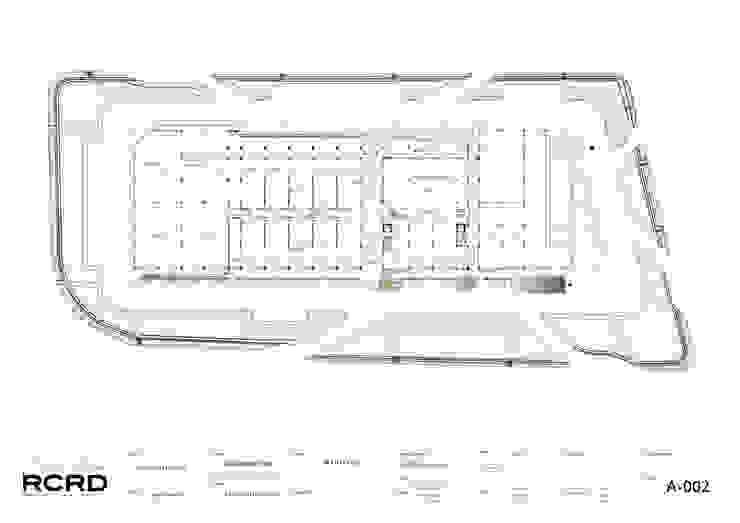 Planta General de RCRD Studio Moderno