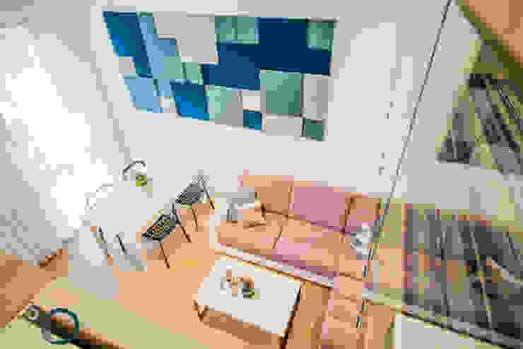 غرفة المعيشة تنفيذ LEMUR Architekci, حداثي