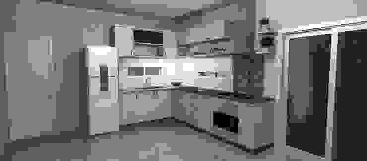 Muebles del angel Cocinas de estilo moderno