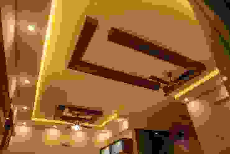 False Ceiling & Light Fan: modern  by Asense,Modern Wood Wood effect