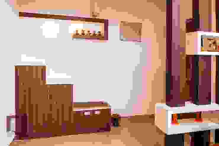Foyer: modern  by Asense,Modern Wood Wood effect
