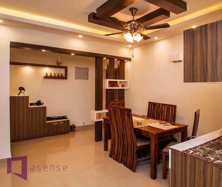 Dining Room View: modern  by Asense,Modern Wood Wood effect