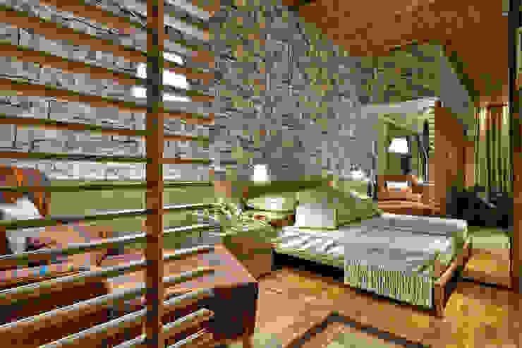 Cuartos de estilo rústico de Luciana Savassi Guimarães arquitetura&interiores Rústico