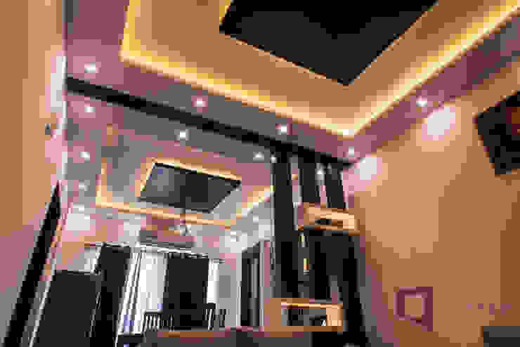 False Ceiling : modern  by Asense,Modern Wood Wood effect