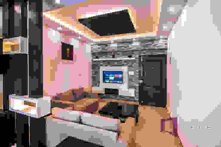 Living Room: modern  by Asense,Modern Textile Amber/Gold