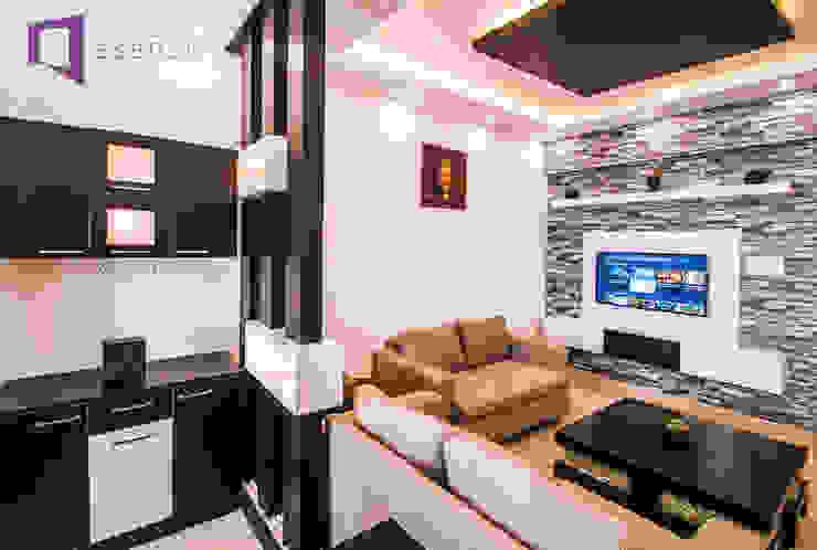 Asense Living roomSofas & armchairs الغزل والنسيج White