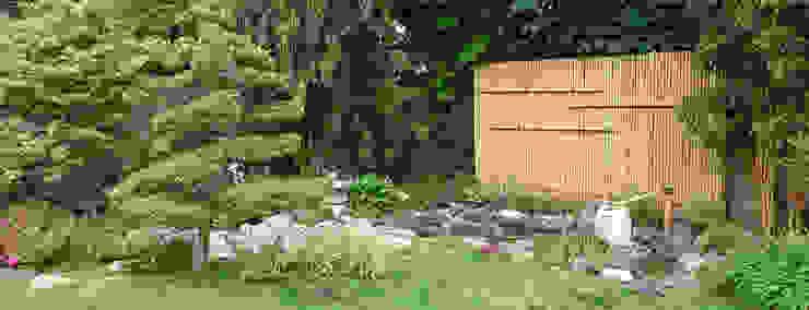Jardin japonais bassin Jardin asiatique par JARDIN JAPONAIS Asiatique