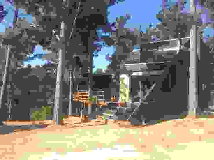 Casa del Bosque Casas estilo moderno: ideas, arquitectura e imágenes de Nido Arquitectos Moderno