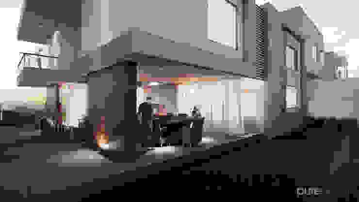 Cañada 30 Casas modernas de Pure Design Moderno