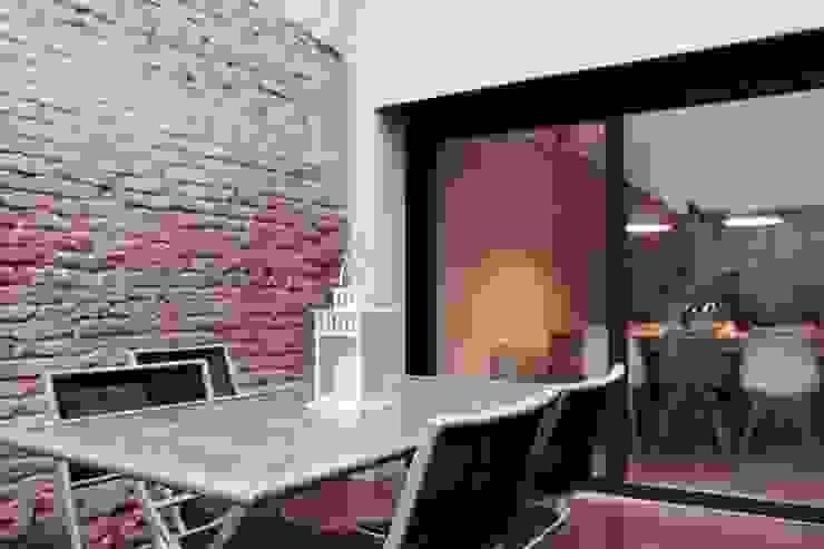patio Casas minimalistas de SMMARQUITECTURA Minimalista
