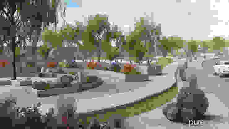 Amenidades Jardines minimalistas de Pure Design Minimalista