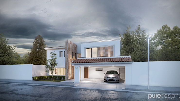 Santerra Residencial Casas minimalistas de Pure Design Minimalista
