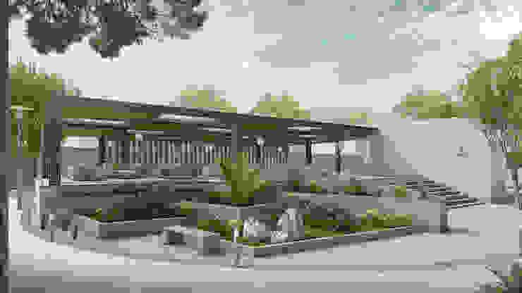 Amenidades Balcones y terrazas minimalistas de Pure Design Minimalista
