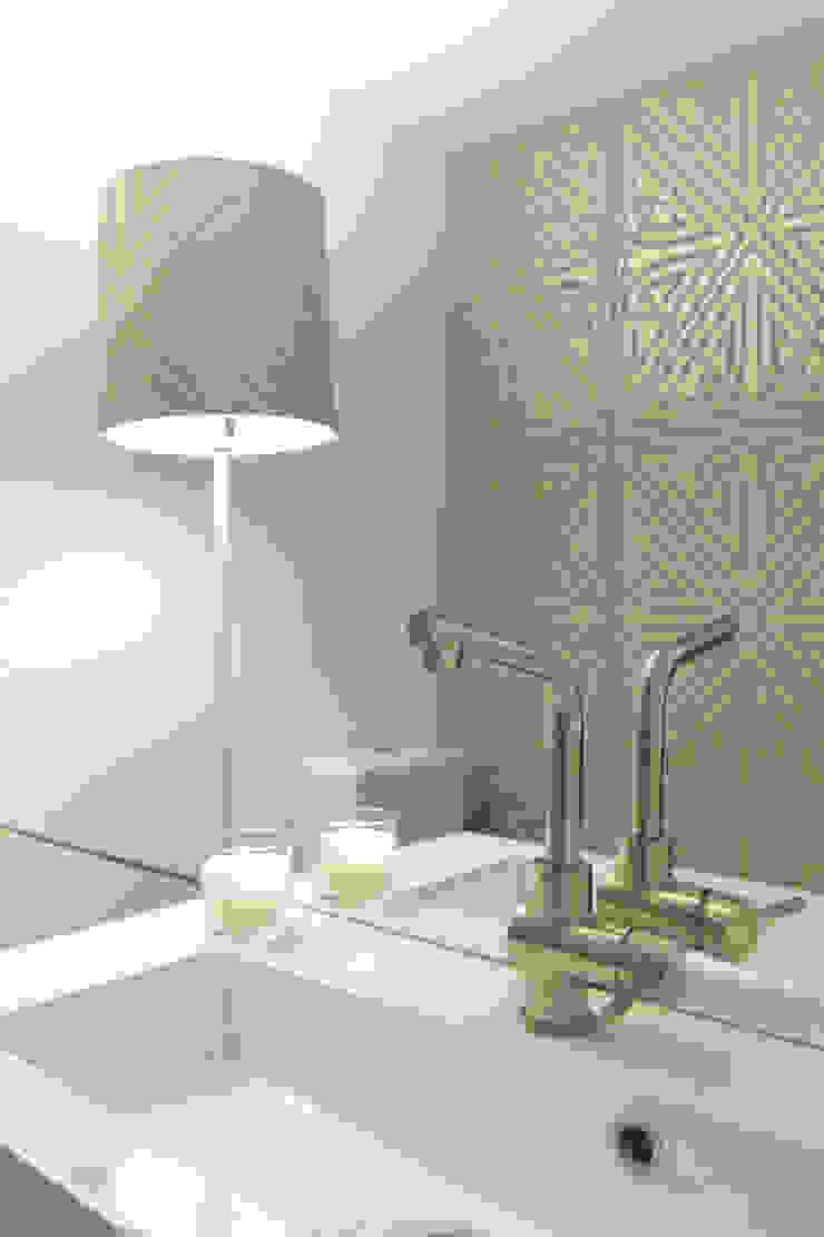 Atelier de decoração - Wc por maria inês home style Mediterrânico