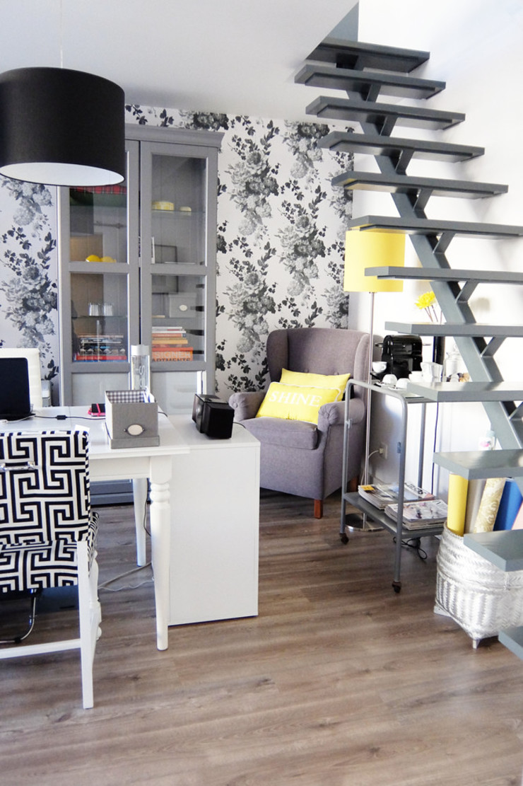 Atelier de decoração - Piso térreo por maria inês home style Mediterrânico