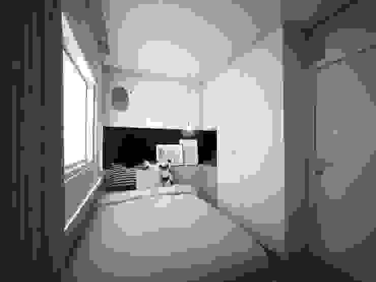 APARTAMENTO BRAVA 603 Quartos minimalistas por TÉRREO arquitetos Minimalista