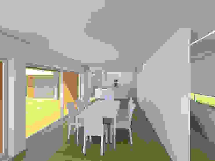 Albertina Oliveira-Arquitetura Unipessoal Lda Modern Dining Room