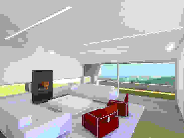 Albertina Oliveira-Arquitetura Unipessoal Lda Modern Living Room