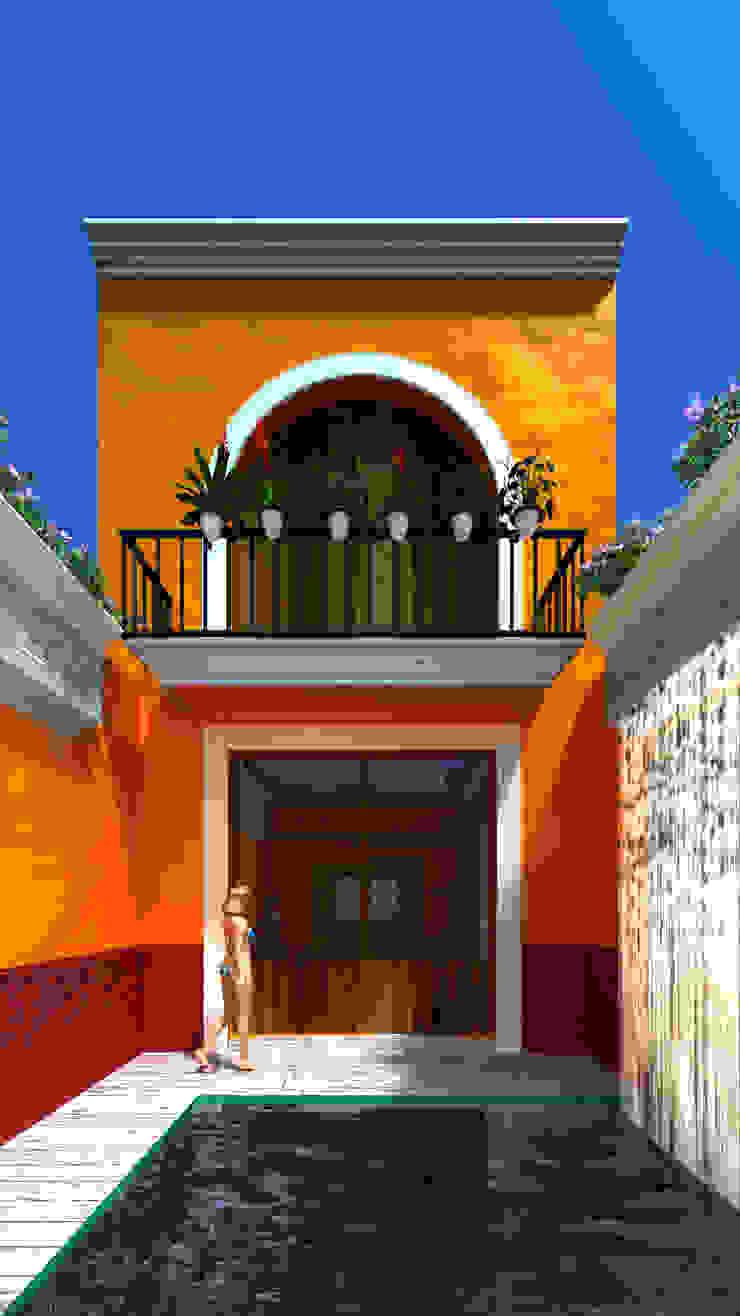 by SG Huerta Arquitecto Cancun Colonial Limestone