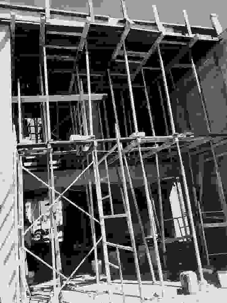 Enso Arquitectos Casas de estilo minimalista Concreto Blanco