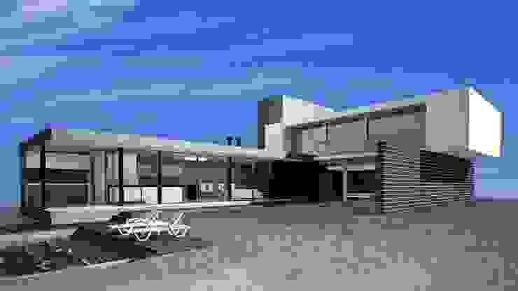 Casa L Casas industriales de MV Industrial Hormigón