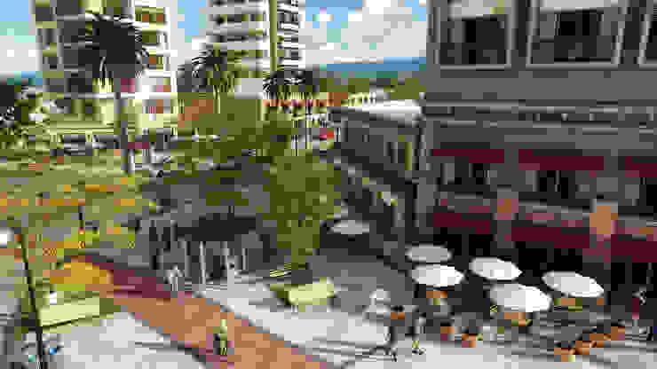 Desarrollo de proyectos Casas modernas de Ambiente de diseño Moderno