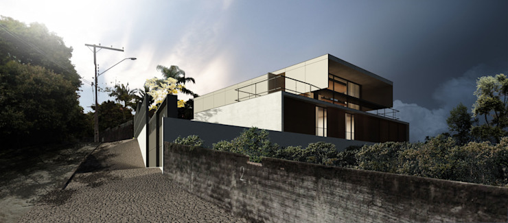 現代房屋設計點子、靈感 & 圖片 根據 Zanatta Figueiredo Arquitetos Associados 現代風