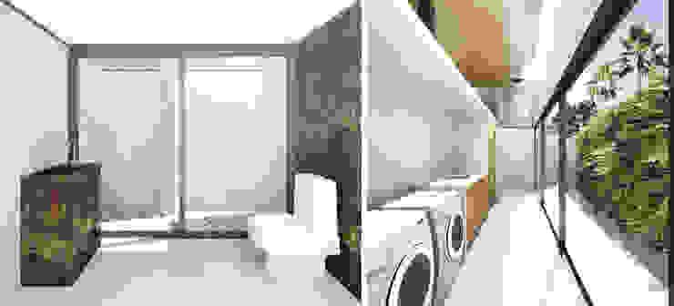 現代廚房設計點子、靈感&圖片 根據 Zanatta Figueiredo Arquitetos Associados 現代風