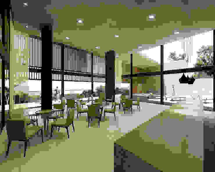 MALL GRANJA VIANA Escritórios modernos por Zanatta Figueiredo Arquitetos Associados Moderno