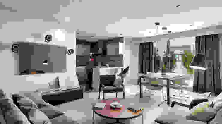 Venturi Residencial Cocinas modernas de IARKITECTURA Moderno Compuestos de madera y plástico