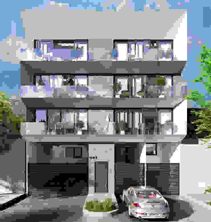Venturi Residencial Casas modernas de IARKITECTURA Moderno Piedra