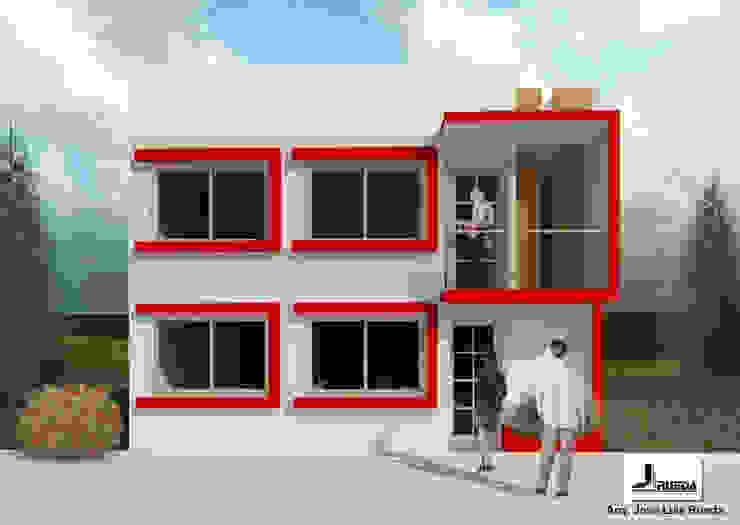 PROPUESTA DE FACHADA PRINCIPAL de Rueda Arquitectura y Bienes Raíces