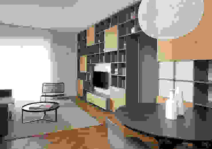 Modern living room by disegnoinopera Modern لکڑی Wood effect