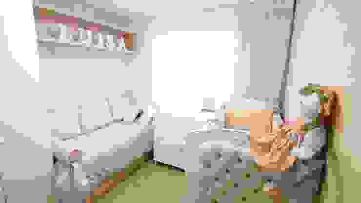 Daisy Andrade - Arquitetura & Interiores Ванна кімната Рожевий