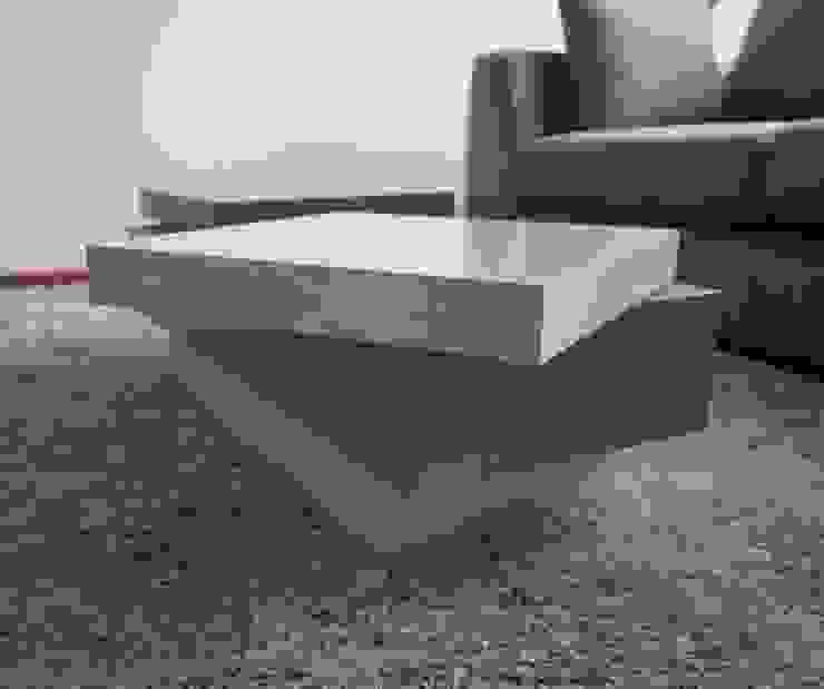 Detalle Mesa Giratoria de MARECO DESIGN S.A.S Clásico Compuestos de madera y plástico