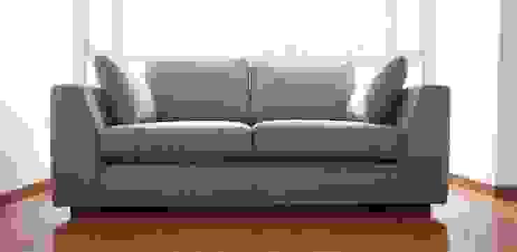 Sofá de MARECO DESIGN S.A.S Clásico Textil Ámbar/Dorado