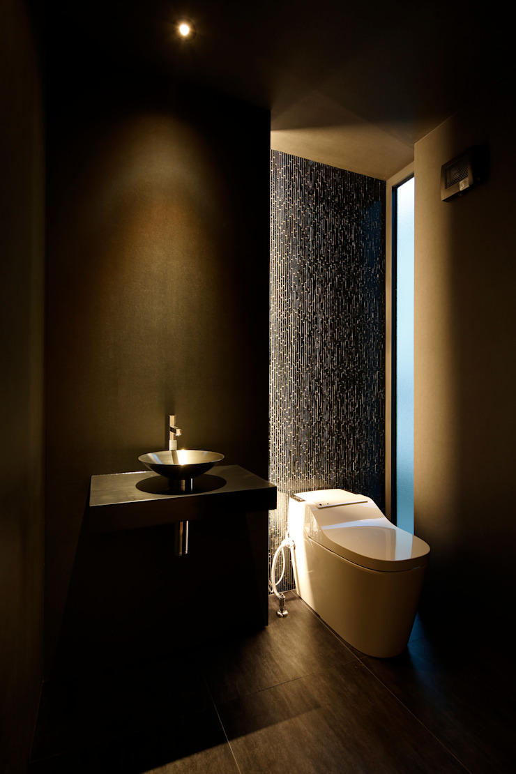 Eclectic style bathroom by MooS/ムース Eclectic