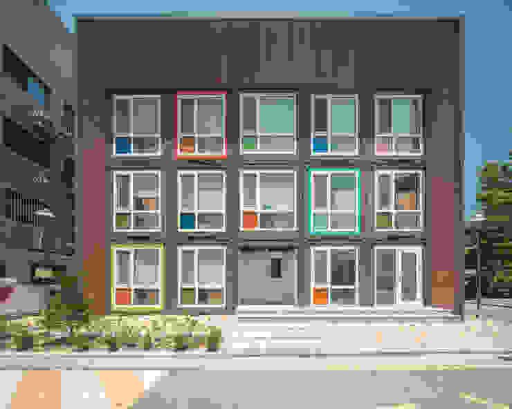 根據 큐브디자인 건축사사무소 現代風